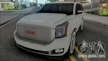 GMC Yukon Denali 2016 para GTA San Andreas