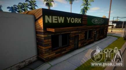 Tienda de Nueva York para GTA San Andreas