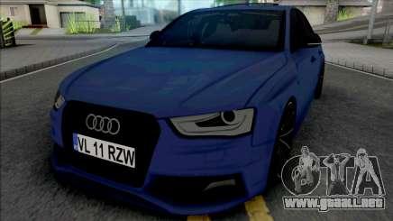 Audi S4 B8.5 Sedan 2014 para GTA San Andreas