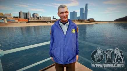 FBI (good skin) para GTA San Andreas