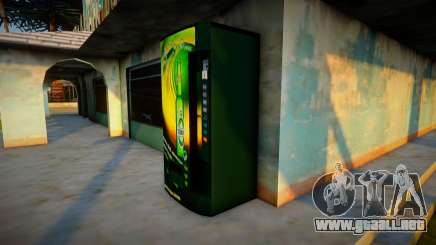 Máquina de cerveza Tuborg para GTA San Andreas