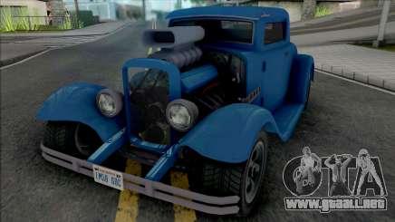 GTA V Vapid Hustler [VehFuncs] para GTA San Andreas