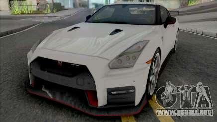 Nissan GT-R Nismo (SA Plate) para GTA San Andreas