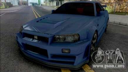 Nissan Skyline GT-R R34 Nismo Z-Tune 2005 [IVF] para GTA San Andreas
