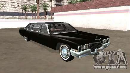 1972 Cadillac DeVille Limusina para GTA San Andreas