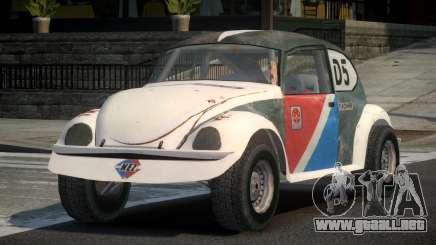 Volkswagen Beetle Prototype from FlatOut PJ5 para GTA 4