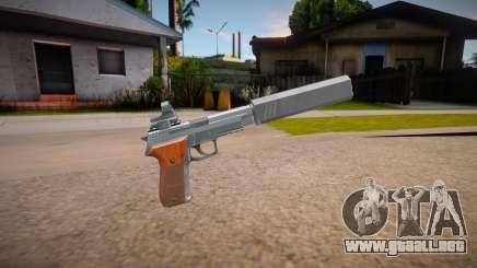 SIG P226R (Escape from Tarkov) - Silenced v4 para GTA San Andreas