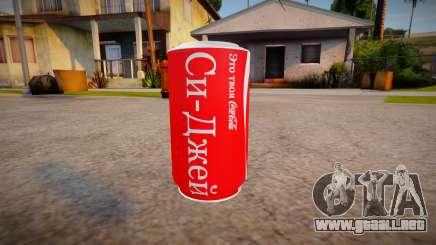 Nuevas texturas de Coca-Cola para GTA San Andreas