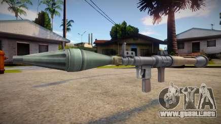 HQ RPG para GTA San Andreas
