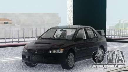 Mitsubishi Lancer Evolution IX MR Stock para GTA San Andreas