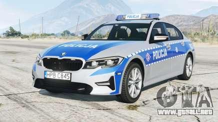 BMW 320i (G20) 2019〡Espón de Policía dePolish [ELS] para GTA 5