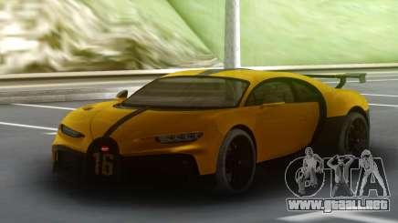 Bugatti Chiron Pur Sport para GTA San Andreas