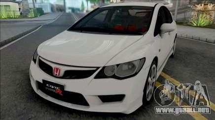 Honda Civic Type R (FD2) 2008 Stock para GTA San Andreas