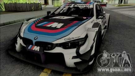 BMW M4 DTM 2017 para GTA San Andreas