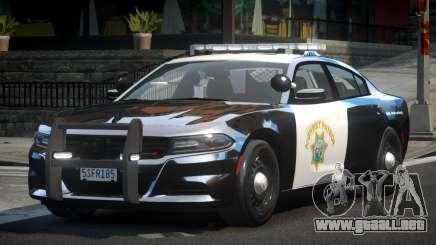 2015 Dodge Charger CHP para GTA 4