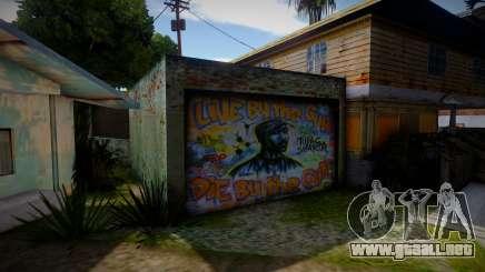 2Pac Graffiti para GTA San Andreas