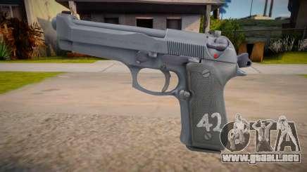 Beretta M9 (AA: Proving Grounds) para GTA San Andreas