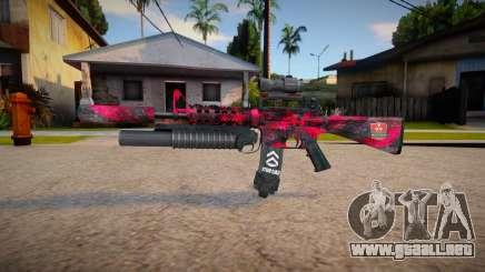 M4 Nuketow marck_delta para GTA San Andreas