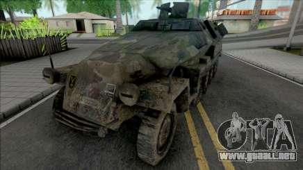 Sd.Kfz. 251 para GTA San Andreas
