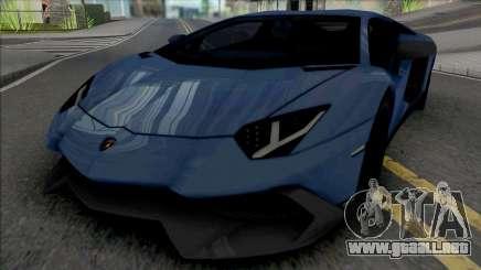 Lamborghini Aventador LP720-4 para GTA San Andreas