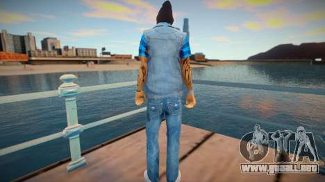 Street thug jeans vest para GTA San Andreas