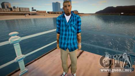 New Cesar Skin para GTA San Andreas