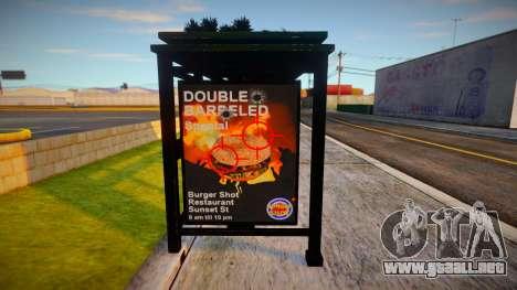 Improved Bus Stop para GTA San Andreas