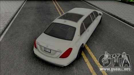Maybach S650 Pullman [HQ] para GTA San Andreas