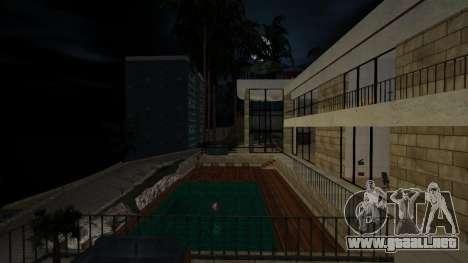 La única mansión enorme para GTA San Andreas