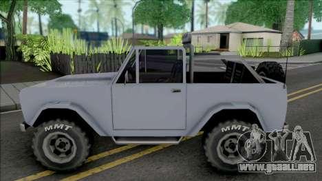 Vapid Coyote [SA Style] para GTA San Andreas