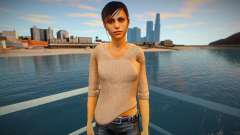 Claire Redfield normal para GTA San Andreas