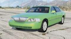Lincoln Town Car Signature Limited 2010 v1.1 para GTA 5