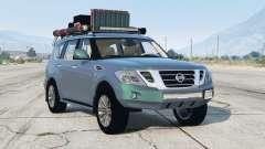 Nissan Patrol (Y62) 2014〡off-road〡add-on para GTA 5
