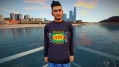 Youth Gucci style para GTA San Andreas