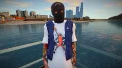 Bandido enmascarado (buena piel) para GTA San Andreas