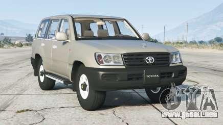 Toyota Land Cruiser GX (J100) 2006〡rims3 para GTA 5
