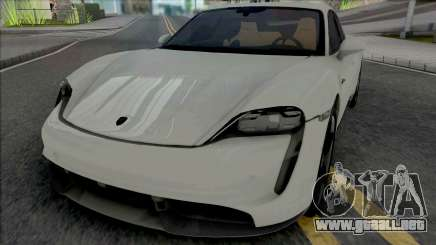 Porsche Taycan Turbo S 2020 para GTA San Andreas