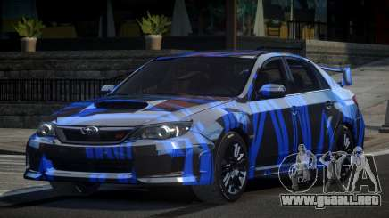 Subaru Impreza US S6 para GTA 4