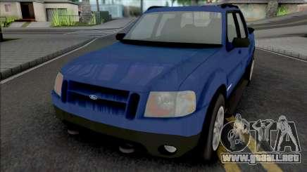 Ford Explorer Sport Trac 2002 para GTA San Andreas