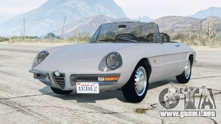 Alfa Romeo Spider 1600 Duetto (105) 1966 v3.0 para GTA 5