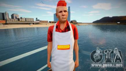 Vendedor de perritos calientes omonood para GTA San Andreas