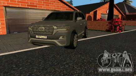 Toyota Land Cruiser 200 18 v0.1 para GTA San Andreas