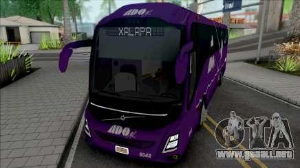 Volvo 9800 de ADO GL (Morado) para GTA San Andreas