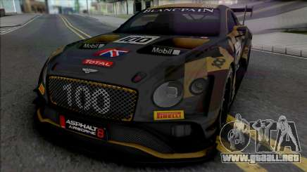 Bentley Continental GT3 para GTA San Andreas