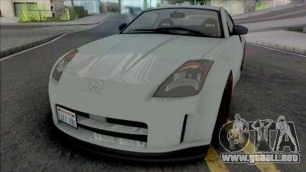 Nissan 350Z [IVF VehFuncs ADB] para GTA San Andreas