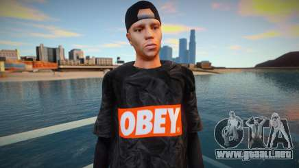 SWAG OBEY style para GTA San Andreas