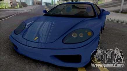 Ferrari 360 Modena [IVF] para GTA San Andreas