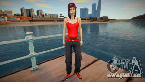 New nurgrl3 red version para GTA San Andreas