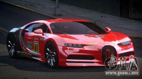 Bugatti Chiron GS Sport S4 para GTA 4