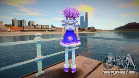 Hyperdimension Neptunia-Neptune para GTA San Andreas